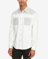 Kenneth Cole Reaction Men's Colorblocked Long-Sleeve Shirt