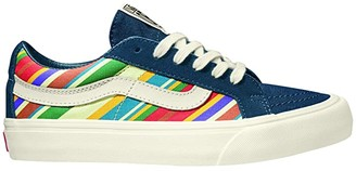 Vans SK8-Low Reissue SF ((Snake) Marshmallow) Athletic Shoes