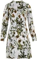 Whistles Marina Silk Flippy Dress