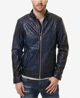 Buffalo David Bitton Men's Jadid Faux-Leather Moto Jacket