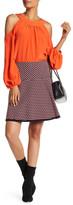 Trina Turk Flavia Floral Jacquard Skirt