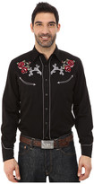 Roper 65P/35R Twill w/ Thistle Roses Embroidery
