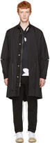 3.1 Phillip Lim Black Fish-tail Coat