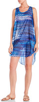 Jordan Taylor Tribal Print Hi-Low Cover-Up