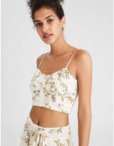 American Eagle AE Button Front Cropped Cami