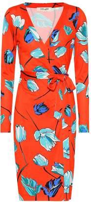 Diane von Furstenberg Julian silk jersey wrap dress