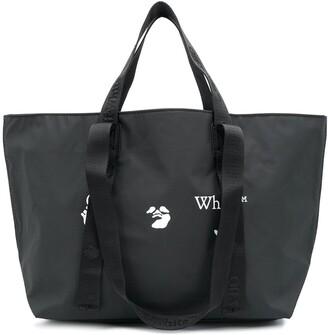 Off-White Logo Quote Tote Bag