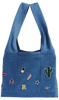 MADEMOISELLE R Denim Bag with Patches