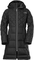 The North Face Metropolis Long Down Jacket - 550 Fill Power, Hooded (For Little and Big Girls)
