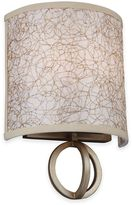 Feiss Parchment Park 2-Light Wall Sconce in Burnished Silver