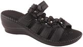 Black Hilda Wedge Sandal