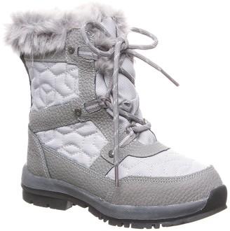 BearPaw Marina Faux Fur Trim & Wool Blend Lined Boot