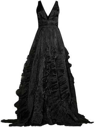 Flor Et. Al Jane Ruffle Gown