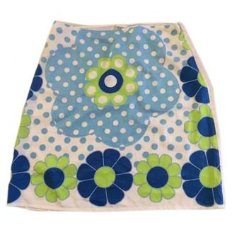 La Perla White Skirt for Women