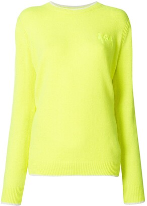 MSGM Crew-Neck Knit Jumper