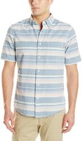 Woolrich Men's Seaport Yarn-Dye Oxford Shirt