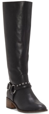 Lucky Brand Women's Karesi Leather Boots Women's Shoes