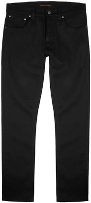 Grim Tim Slim-leg Black Denim Jeans