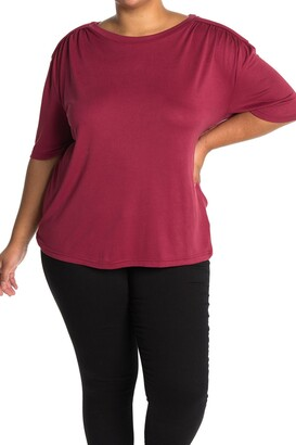 One One Six Shoulder Detail Crew Neck T-Shirt