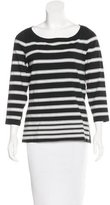 Rag & Bone Long Sleeve Striped Top