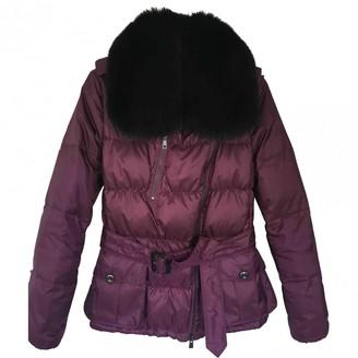 Burberry Purple Coat for Women