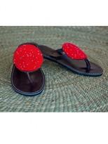 Wazi Tanzania Crimson 'curlew' Sandals