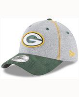 New Era Green Bay Packers Gray Stitch 39THIRTY Cap