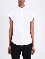 Rag & Bone Ara silk and cotton-blend shirt