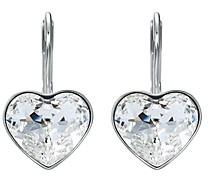 Swarovski Bella Crystal Heart Earrings