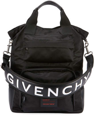 Givenchy Men's UT3 Nylon Tote Bag