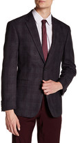 Tommy Hilfiger Ethan Grey Plaid Two Button Notch Lapel Suit Separates Jacket