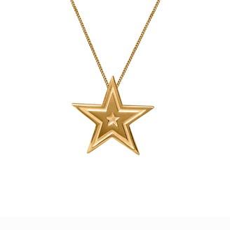 Edge Only Megastar Pendant Gold