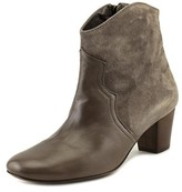 Luca Valentini Lugia Round Toe Leather Ankle Boot.