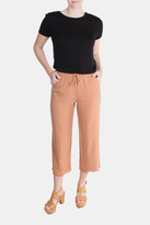 Honey Punch Clay Drawstring Pants
