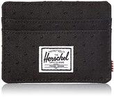 Herschel Charlie Wallet, Black Embroidery