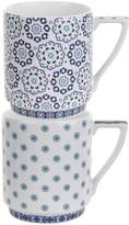 Ted Baker Casual Balfour V & VI Stacking Mugs (Set of 2)