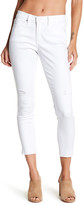 Nicole Miller New York High Rise Distressed Skinny Jean
