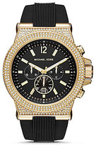 Michael Kors Dylan Chronograph Silicone-Strap Watch