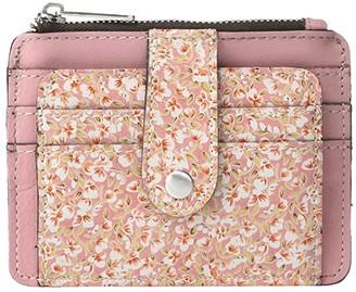 Patricia Nash Cassis ID (Blush Bouquet Print) Bags