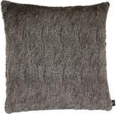 Aviva Stanoff Fancy Faux Fur Cushion 50x50cm - Slate