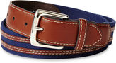 Izod Blue Canvas Belt - Boys 8-20