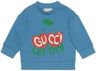 Gucci Baby 'Let's Go' sweatshirt