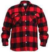 Rothco Fleece Lined Flannel Shirt, 3X-Large