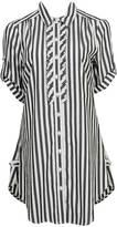 Pleated Stripe Tunic