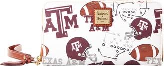 Dooney & Bourke NCAA Texas A&M Large Zip Around Wristlet