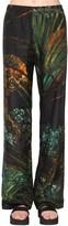 Alanui Printed Cotton & Silk Pants