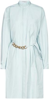Givenchy Chain Belt Shirt Dress
