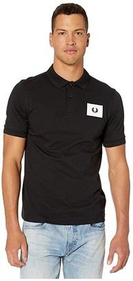 Fred Perry Acid Brights Polo (Black) Men's Clothing