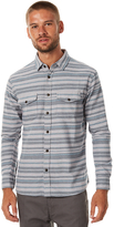 Katin Cast Woven Flannel Ls Mens Shirt Grey