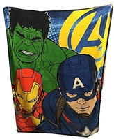 "Marvel Avengers 2 Age of Ultron Plush 50"" x 60"" Fleece Throw"